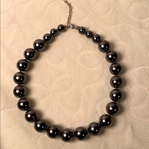 Monet Pearl Costume Jewelry Necklace